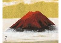 red fuji by kazuko gokura
