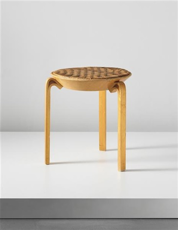 stool model no v63 by alvar aalto