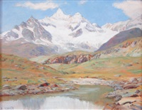 le petit lac du blanchet by angelo abrate