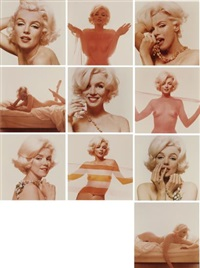 marilyn monroe, the last sitting (10 works) by bert stern