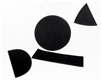 black and white - winter rhythm by alan reynolds