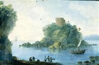 paesaggio costiero by alessandro d' anna