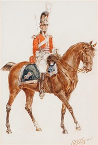 an officer of the 1st royal dragoons by reginald augustus wymer