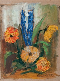 flower still life by willy davidson
