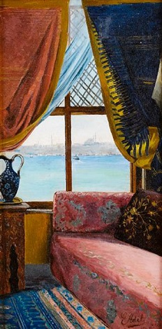 a window onto the bosphorus by e adil