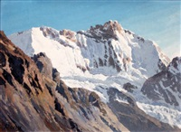 les grandes jorasses by jacques charles fourcy