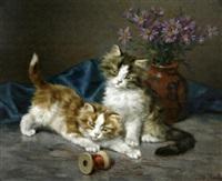 les deux chatons by daniel merlin
