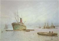 shipping scene by blythe fletcher