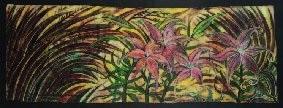 lilies by michael tuffery