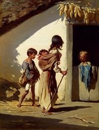 zigeunerkinder by johann gualbert raffalt