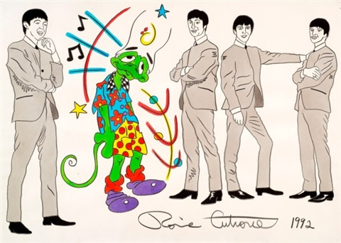 zeke the beatles by ronnie cutrone