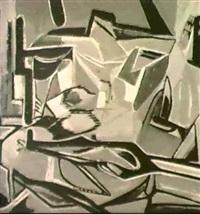 interieur cubiste by leopold (leo) reignier