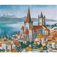 die kathedrale notre-dame von lausanne by arnold brügger