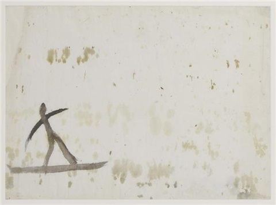 boceto para la caza del pato con fizga by diego rivera