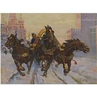 troika ride by anatollo sokolov