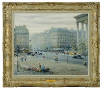 place de la madeleine, paris by paul gagni