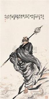 罗汉图 (buddha) by liu zigang
