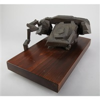 wood calling bronze by michael snow