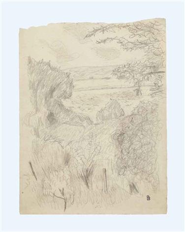 paysage à vernon by pierre bonnard
