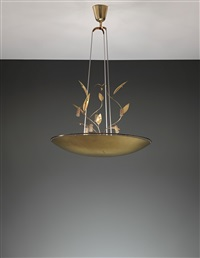 chandelier, model no. k2-33 by paavo tynell