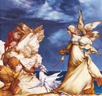 die landvermesser und ein engel by heinz zander