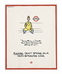 please don't smoke by fougasse (cyril kenneth bird)