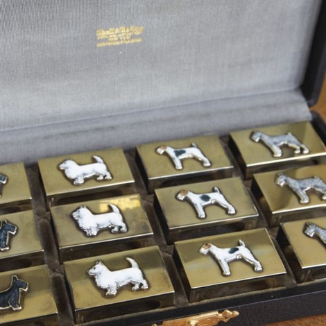 canine matchbox safes set of 12 by udall ballou