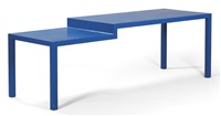 hard edge table by joep van lieshout