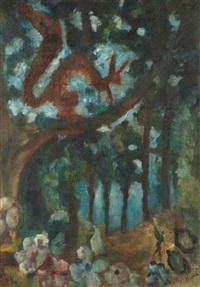 l'ecureuil by édouard joseph goerg