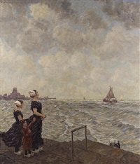 at the beach of middelburg by hubert ritzenhofen
