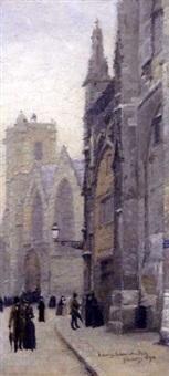 personnages a saint-sever by léon jules lemaitre