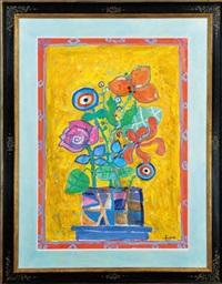 bouquet de fleurs by paul aïzpiri