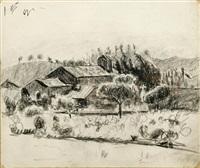 paysage de provence (la garonne) by francis smith