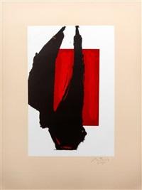 art chicago print, 1981 by robert motherwell