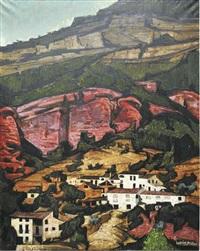 pueblo en la montaña by hernan pico
