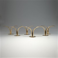 kerzenleuchter lily (set of 6) by ivar alenius-bjork