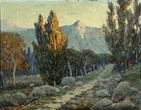 sunlit california landscape by spiros j. karras