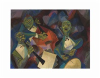 jam session by william gropper