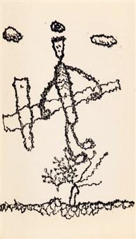 histoire de l'aveugle (bk w/ 5 works, 8vo) by jean l' anselme