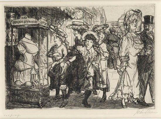 the showcase by john french sloan