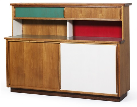 raumteilerschrank by le corbusier on artnet. Black Bedroom Furniture Sets. Home Design Ideas
