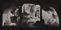 industrial scenes by william m. rittase
