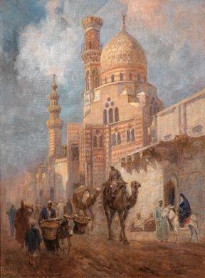 in den straßen von cairo by karoly cserna