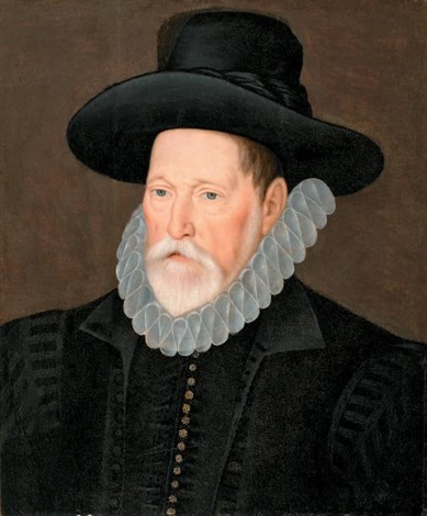 portrait dhomme au chapeau by flemish school 16