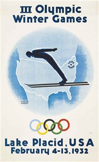 iii olympic winter games, lake placid by witold gordon