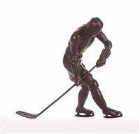 ice hockey player by c. sabouret