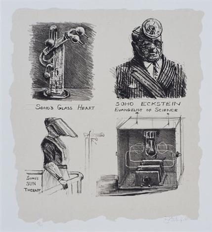 soho eckstein evangelist of science by william kentridge