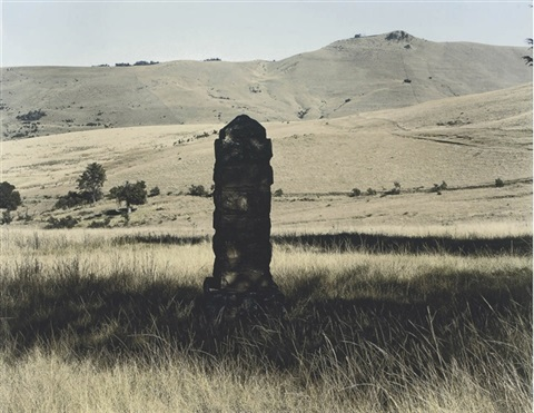 this monument commemorates the encampment here of griqua leader adam kok ii by david goldblatt