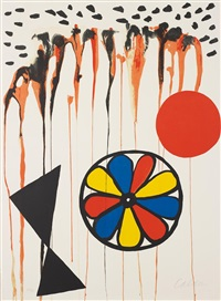 la mousson (the monsoon) by alexander calder