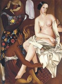 after the bath by lydia dmitrievsky